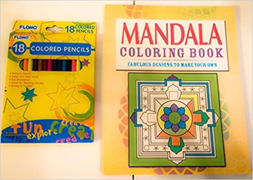 Mandalas Fabulous Designs To Make Your Own Coloring Book With Pencils Gift Set Clare Goodwin 0733023465753 Amazon Books