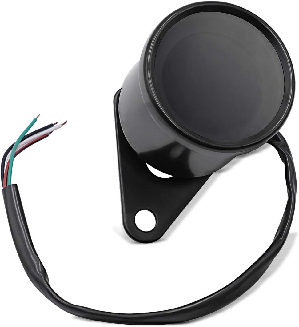 Digital Tachometer Für Honda Shadow Vt 750 600 C Trx Schwarz Auto