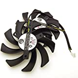 PLD09210D12HH 12V 0.4A 85mm 4 Pin Replacement Cooling Fan For R9 380 280X 270X 290X Graphics Card Fan