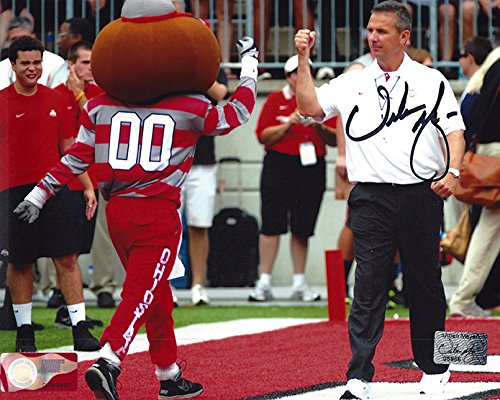 Urban Meyer Autographed Ohio State Buckeyes 8x10 Photograph - Certified Authentic - Autographed Photos Ohio Sports Group