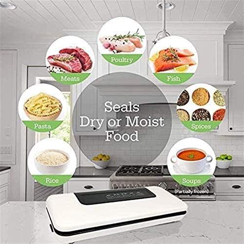 Passez l'aspirateur Sealer Sacs Food Saver, vide Scelleur, vide Scelleur pleine automatique à vide alimentaire Scellant machine, sec et Moist alimentaires DDLS