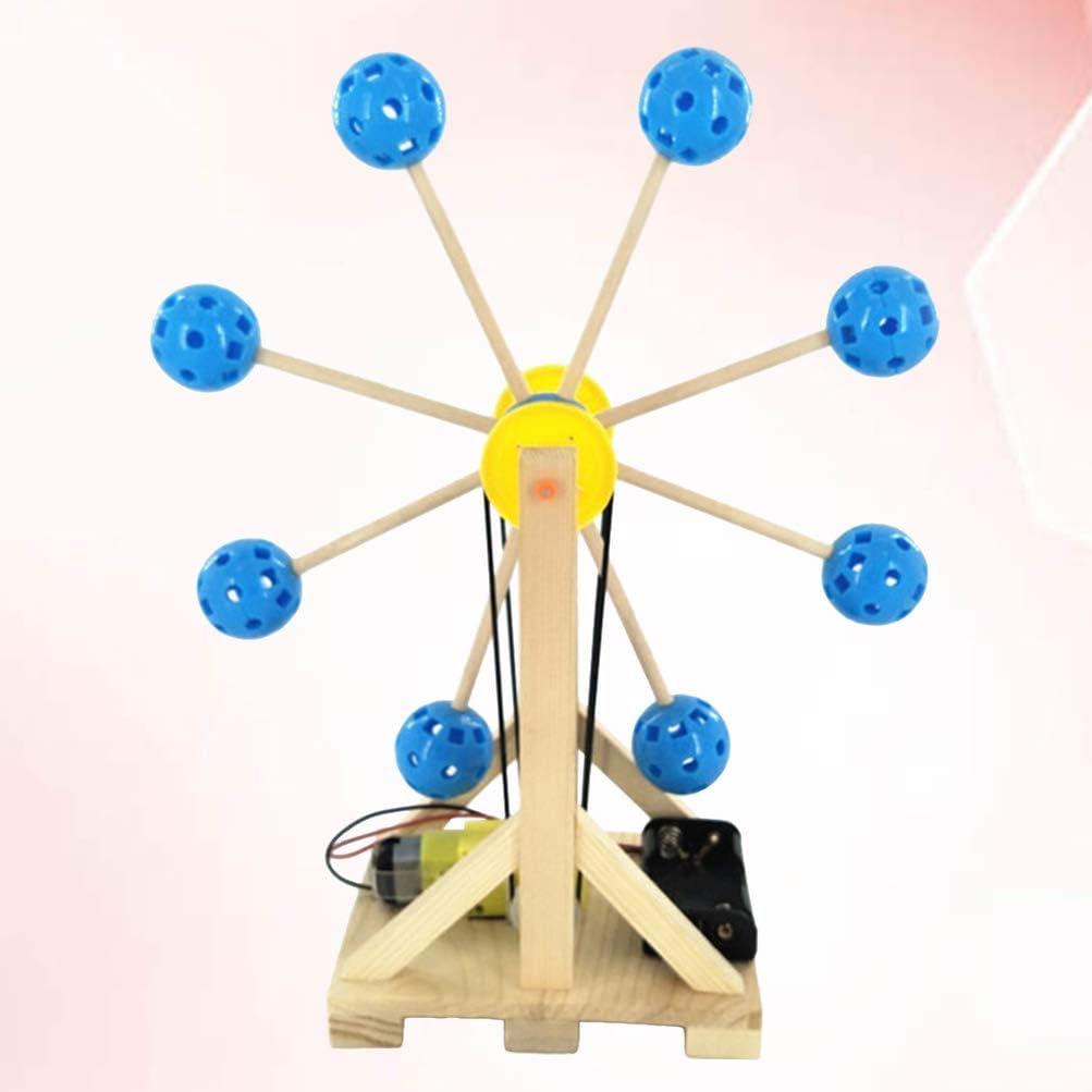 Kids Educational Science Experiment Technology Toy Set DIY Ferris Wheel  SQi4