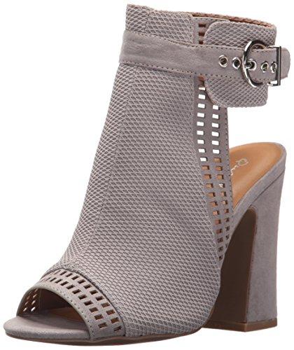 Qupid Women's Everly-22 Heeled Sandal Light Grey WsVTeQY