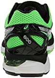 ASICS Men's GT 2000 3 Running Shoe, Green Gecko/Silver/Black, 11.5 M US