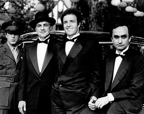Godfather Unsigned Glossy B/W 8x10 Photo