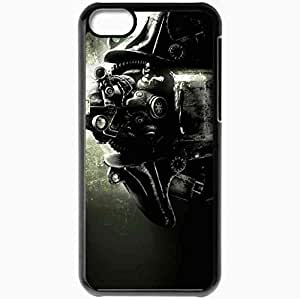 Personalized iPhone 5C Cell phone Case/Cover Skin Armor Black