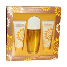 Elizabeth Arden for Women Set-edt Spray 3.3-Ounce and Body Lotion 3.3-Ounce and Cream Cleanser 3.3-Ounce