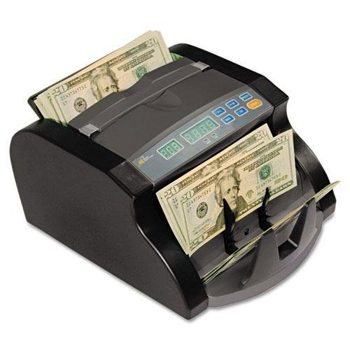 ROYALSOVEREIGN RBC650PRO Electric Bill Counter, 1000 Bills/Min., 1063/100Wx9 45/100Dx6 1/10'', Black/Gray