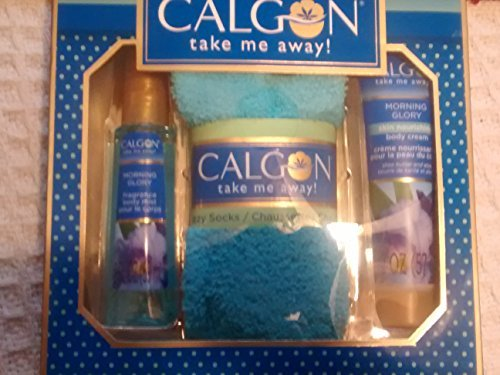 Calgon Take Me Away Morning Glory 3 Piece Gift Set