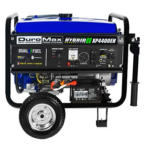 DuroMax Hybrid Dual Fuel XP4400EH 4,400-Watt Portable Generator by DuroMax (Image #4)