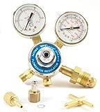 51hbGLEMDQL. SL160  - Forney 85363 Argon/CO2 Regulator Kit for Mig Welder, 5/32-Inch