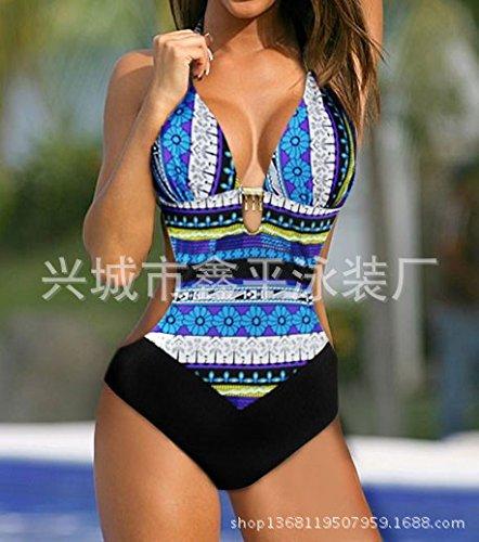 Damen plus Größe Damen Badeanzug Bikini einteiligen Badeanzug