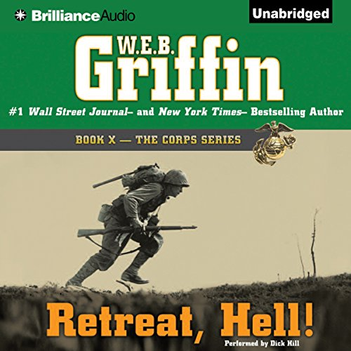Retreat, Hell!: Book Ten in The Corps Series Audiobook [Free Download by Trial] thumbnail