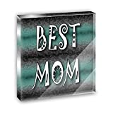 Best Mom Admiration Respect Acrylic Office Mini Desk Plaque Ornament Paperweight