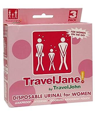 TravelJane Disposable Urinal for Women by TravelJohn