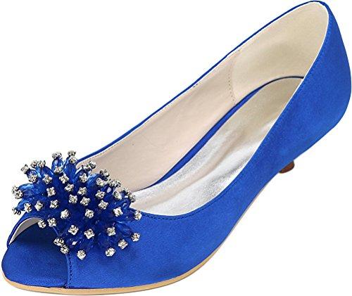 Bleu 36 Femme Find Bleu Ouvert 5 Bout Nice wSpCxqFH