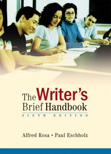 Writer's Brief Handbook, The (6th Edition)