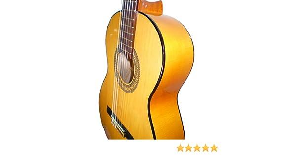 MARCE FLAMENCO 1 - Guitarra Clasica española de estudio + Funda ...