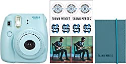 Fujifilm Instax Shawn Mendes Mini 8 Blue Bundle