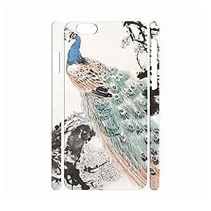 XiFu*MeiCool Utility Vintage Peacock Anti Shock Hard Plastic Cover Skin for Iphone 6 Case - 4.7 InchXiFu*Mei