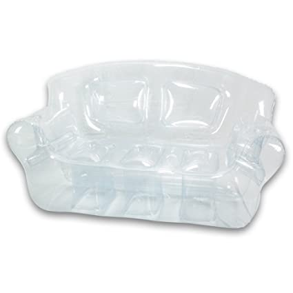 Inflatable Bubble Couch, Crystal Clear
