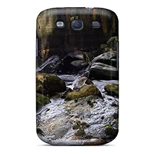 Durable Defender Case For Galaxy S3 Tpu Cover(kane Mtn Waterfall)