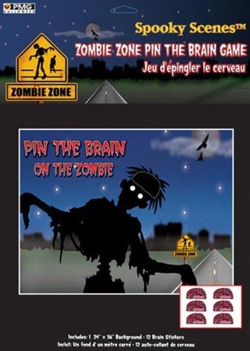Pin the Brain on the Zombie - Party Game ()