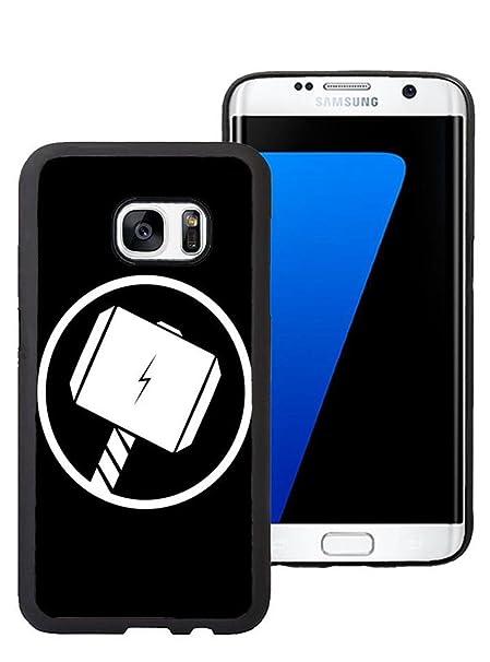 Winartbywin Funda para Samsung Galaxy S7 Edge, Thor Dibujos ...