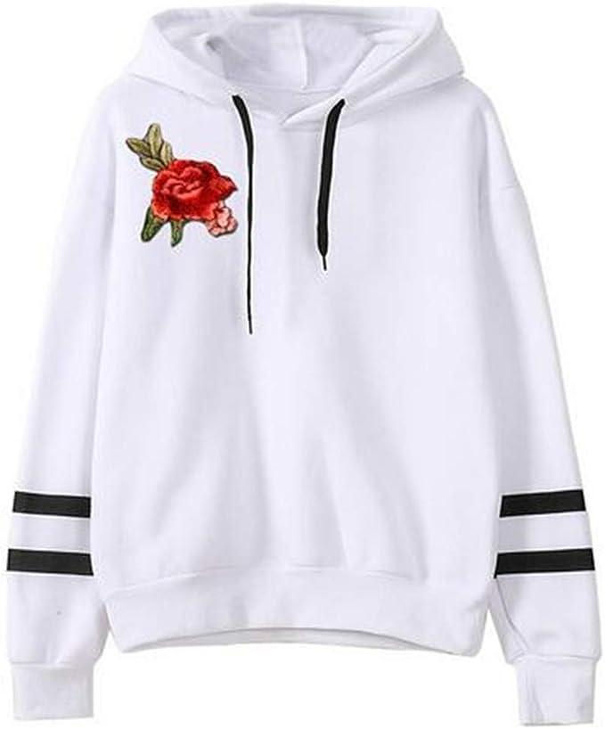 Amazon.com: Chaqueta con capucha para mujer, casual, con ...
