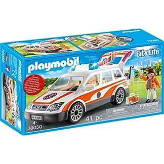 PLAYMOBIL City Life 70050 Notarzt-PKW mit Licht und Sound, Ab 4 Jahren 8