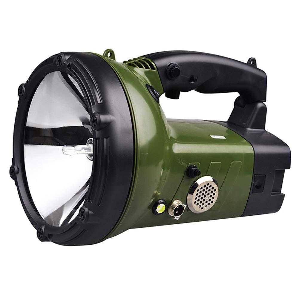 HID Xenon Handheld Searchlight Car Luci da lavoro Chargable Spotlight, per Car Boat Offroad Veicolo di guida Pesca esterna Light Caccia Camping Patrol Light Torcia (Colore   55W)