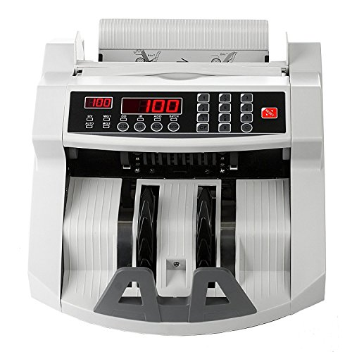 New R4 Deluxe Professional 17 Button Money Counter With UV/MG W/Counterfeit Bill Detection US And European Bills by R4