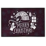 Theshy Merry Christmas Welcome Doormats Indoor Home Carpets Decor 40x120CM Party Festival Decorations