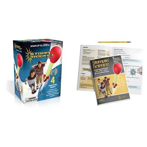 The Original Stomp Rocket: Ultra 4-Rocket Kit (20008) wit...