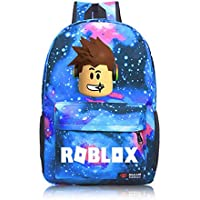 Roblox Backpack Kids School Bag Student Boys Bookbag Handbag Travelbag Xams Gift Galaxy Blue A