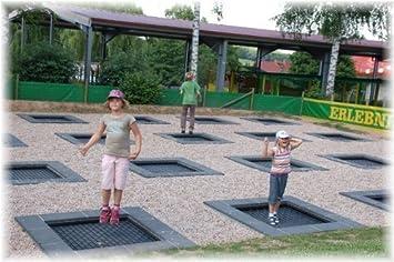 Eurotramp Kids Tramp Spielplatz Boden Trampolin 1 5 X 1 5 M