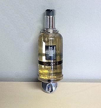 Dispensador baño ducha shampoo con bote 300 ml Dosificador y soporte de pared de acero Albatros 10 piezas: Amazon.es: Industria, empresas y ciencia