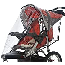 InSTEP Swivel Wheel Jogger Single Stroller Weather Shield in Clear by InStep