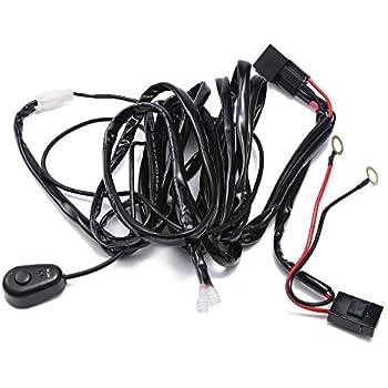 tomall wiring harness kit for led work light. Black Bedroom Furniture Sets. Home Design Ideas