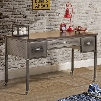 Hillsdale Furniture Urban Quarters 52'' W Writing Desk with Casters by Hillsdale Furniture