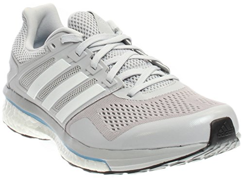 adidas Performance Men's Supernova Glide 8 m Running Shoe Light Solid Grey/White/Unity Blue Fabric 12.5 M US