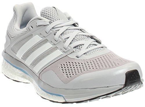 adidas Performance Men's Supernova Glide 8 m Running Shoe Light Solid Grey/White/Unity Blue Fabric 12.5 M US