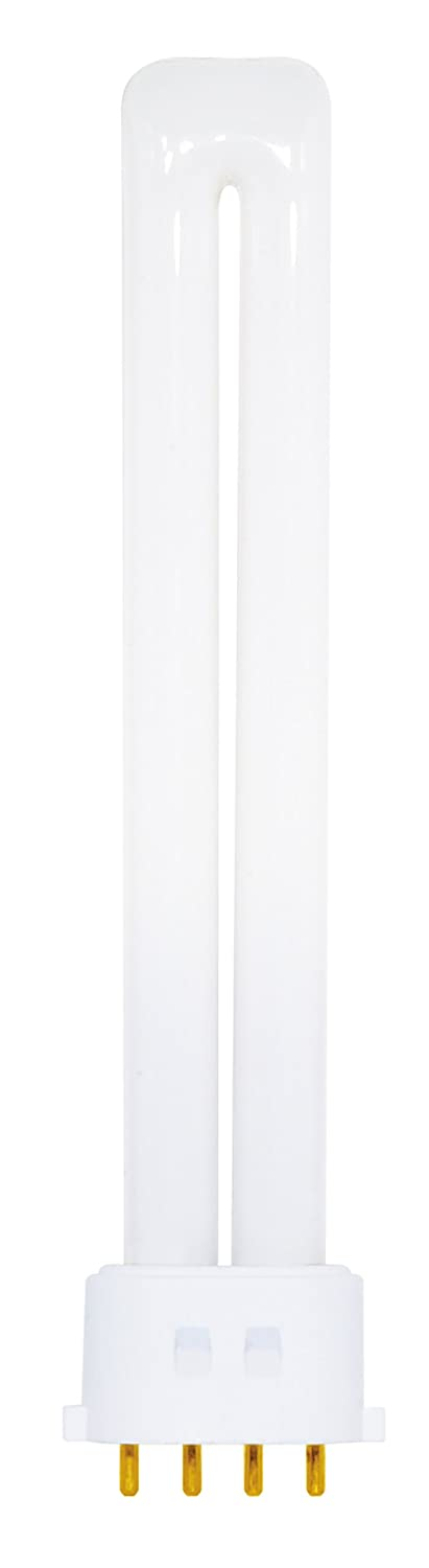 Satco S8369 4100K 13 Watt 2G7 Base T4 Twin 4 Pin Tube for Electronic and Dimming Ballasts