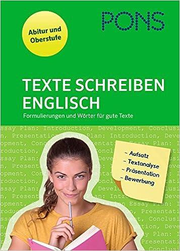 Pons Texte Schreiben Englisch Aufsatz Textanalyse Präsentation