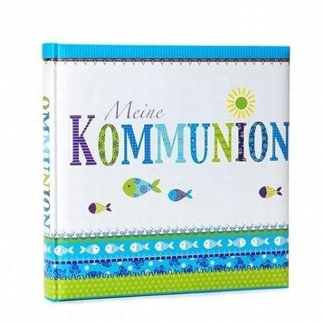 Goldbuch 03086 Fotobuch Kommunion Fisch, blau/grün: Amazon.de: Spielzeug