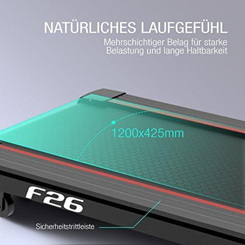 Sportstech F26 - Cinta de correr profesional con cinturón de ...
