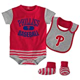 MLB  Philadelphia Phillies Infant Boys Bib & Booty-12 Months