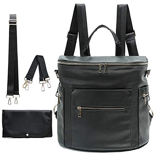 Diaper bag Leather Diaper