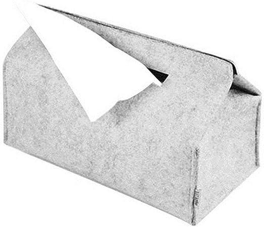 NUOMIZAI Caja de pañuelos-Caja de servilletas portátil de 3 Piezas, Caja de pañuelos para el automóvil, B: Amazon.es: Hogar