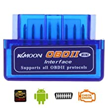 Docooler Mini V2.1 OBD2 Bluetooth Car Diagnostic Scanner Tool with support for Android and Windows